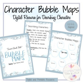 It is an image of Bubble Map Printable with circle