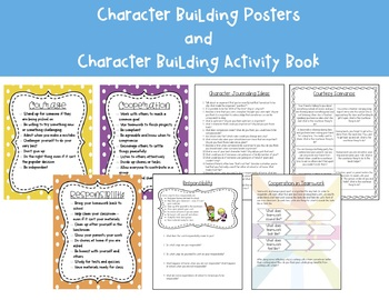 Character Building Activity Book and Posters