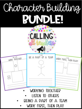 Character Building BUNDLE!