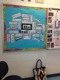 "Character Building ""Be"" Bulletin Board"
