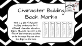 Character Building Book Marks