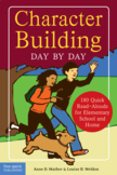 Character Building Day by Day Book in Like New Condition