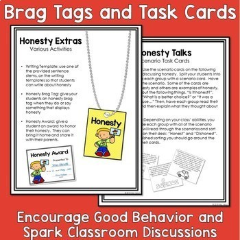 Character Building - Honesty [Free Activity Packet]