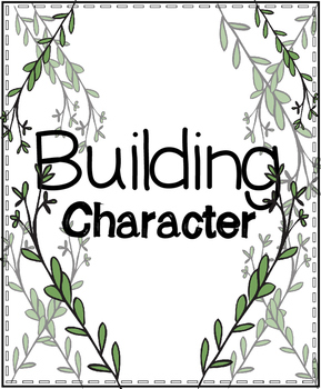 Character Building Posters