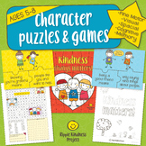 Character Building Puzzles, Games, Spot the Difference - U