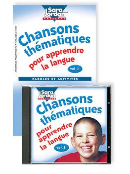 Chansons thématiques pour apprendre la langue - Digital Album Download w/ Lyrics