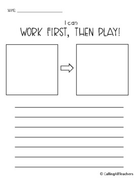 Character Building: Work First, Then Play