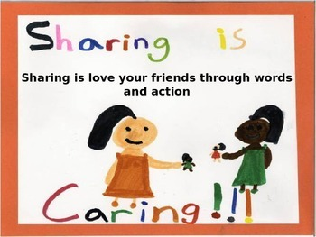 Character Building about Sharing