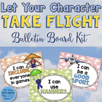 Character Bulletin Board: Let Your Character Take Flight
