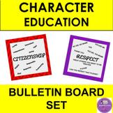 Character Bulletin Board set