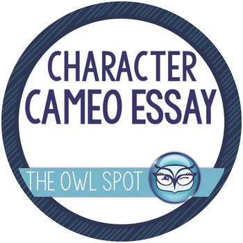 Character Cameo - Character Analysis Essay