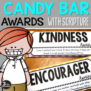 Character Candy Bar Awards {With Scripture}