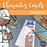 Character Cards Book Project