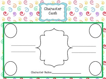 Character Cash Adjectives
