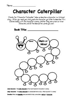 Character Caterpillar