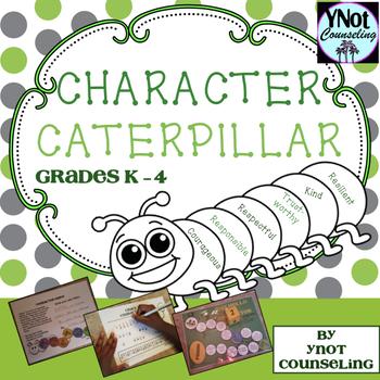 Character Caterpillar - Character Education Activities