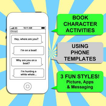 Book Character Cell Phone - Create Your Own iPhone