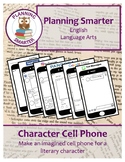 Character Cell Phone - Make an imagined cell phone for a l