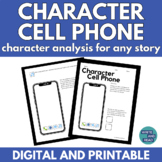 Character Cellphone: Characterization Activity for Any Sto