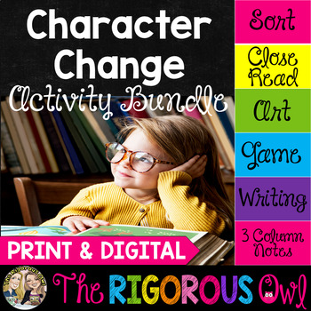 Character Change by The Rigorous Owl