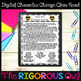 Character Change Activities | Paper and Digital | Distance Learning