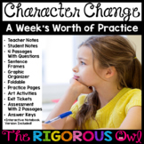 Character Change Week Lesson and Practice