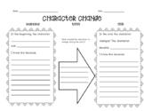 Character Change Graphic Organizer