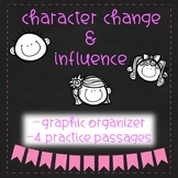 Character Change - Graphic Organizer and Reading Practice