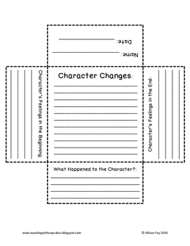 Character Changes Foldable