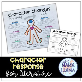 Character Changes Literature Response