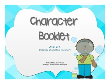 Character & Character Traits Booklet