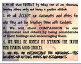 Character Classroom Rules