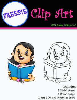 Character Clip Art: FREEBIE