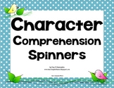 Character Comprehension Center Common Core Aligned RL.6.3, RL.5.2, RL.4.3 RL.3.3