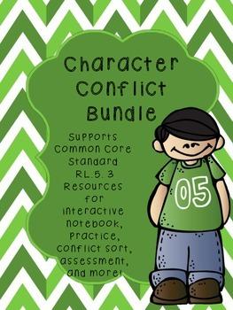 Character Conflict Resource Bundle Common Core Standard RL.5.3