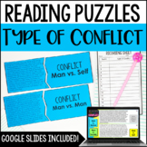 Character Conflict Puzzles | 4th and 5th Grade Reading Center