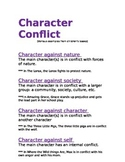 Character Conflict and Quiz