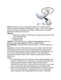 Character Conflict in Literary Text