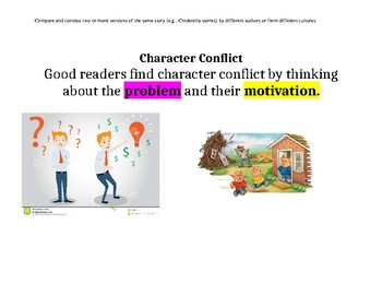 Character Contrast and Character Conflict Anchor Charts