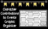 Character Contributions to Events Graphic Organizer