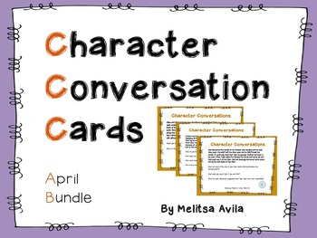 Character Conversation Cards- April