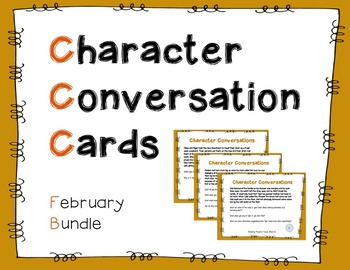 Character Conversation Cards- February