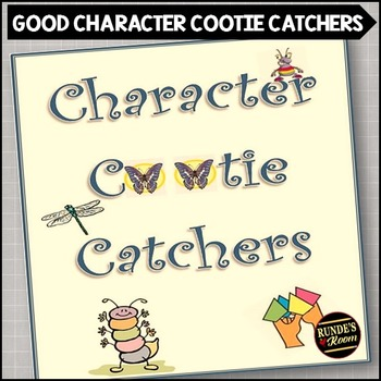 Character Cootie Catchers