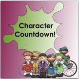 Understanding Fictional Characters: Character Countdown