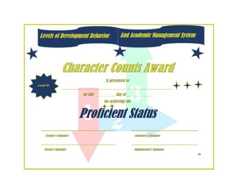 Character Counts Awards