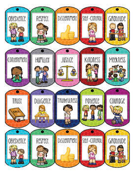 Character Counts Brag Tags!