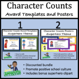 Character Counts Classroom Posters & Award Certificates