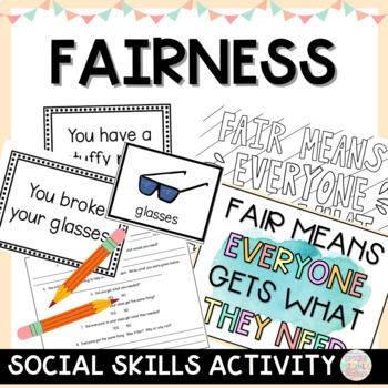 Back to School Character Counts Fairness Activity