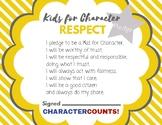 Character Counts Pledge Certificates