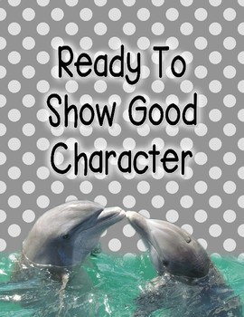 Character Counts Positive Clip Chart with Brag Tags
